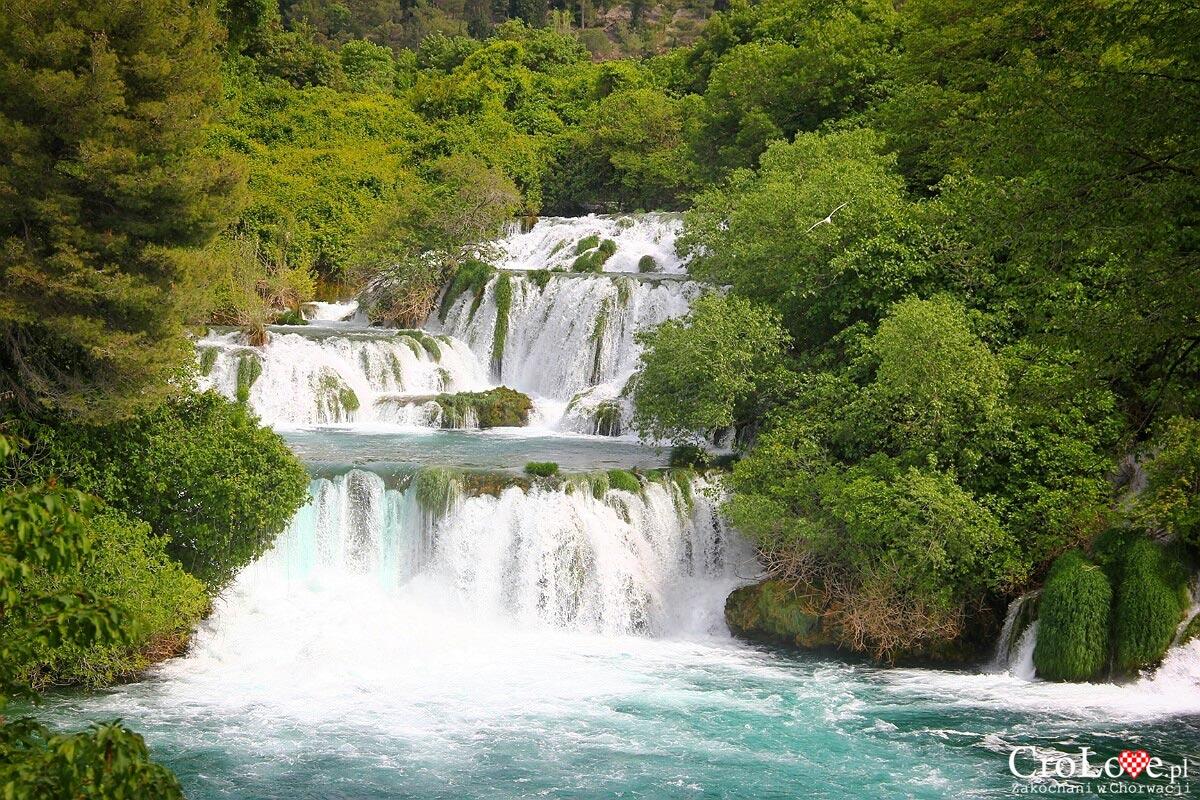 Wodospad Skradinski Buk w Parku Narodowym Krka