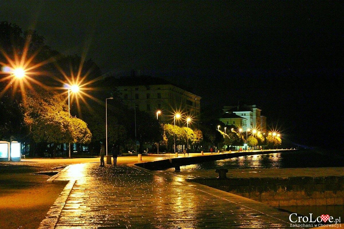 Zadar nocą