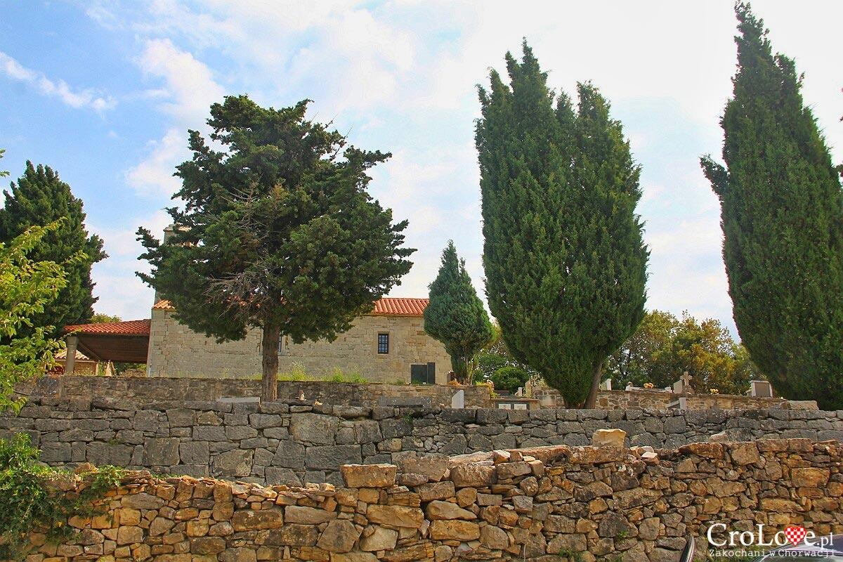 Kościół Św. Hieronima znajdujący się poza murami miasta