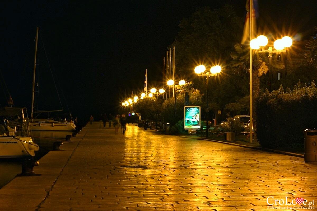 Šibenik nocą