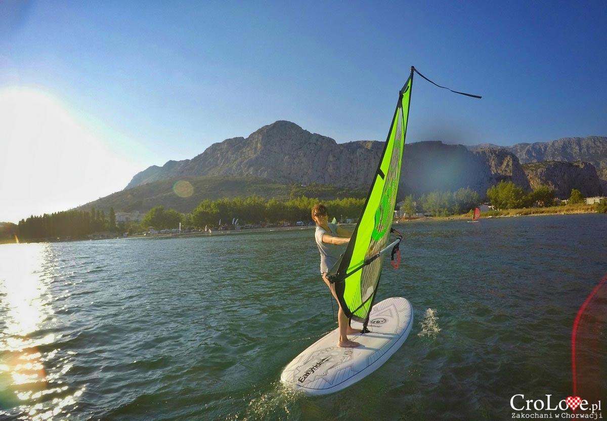 Szkoła windsurfingu Tramontana w Omišu