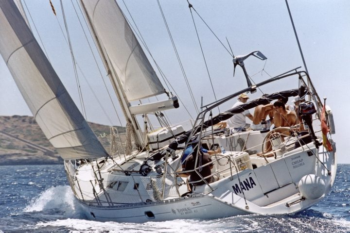 Jacht Sun Odyssey 45.2 (fot. pxboats.es)