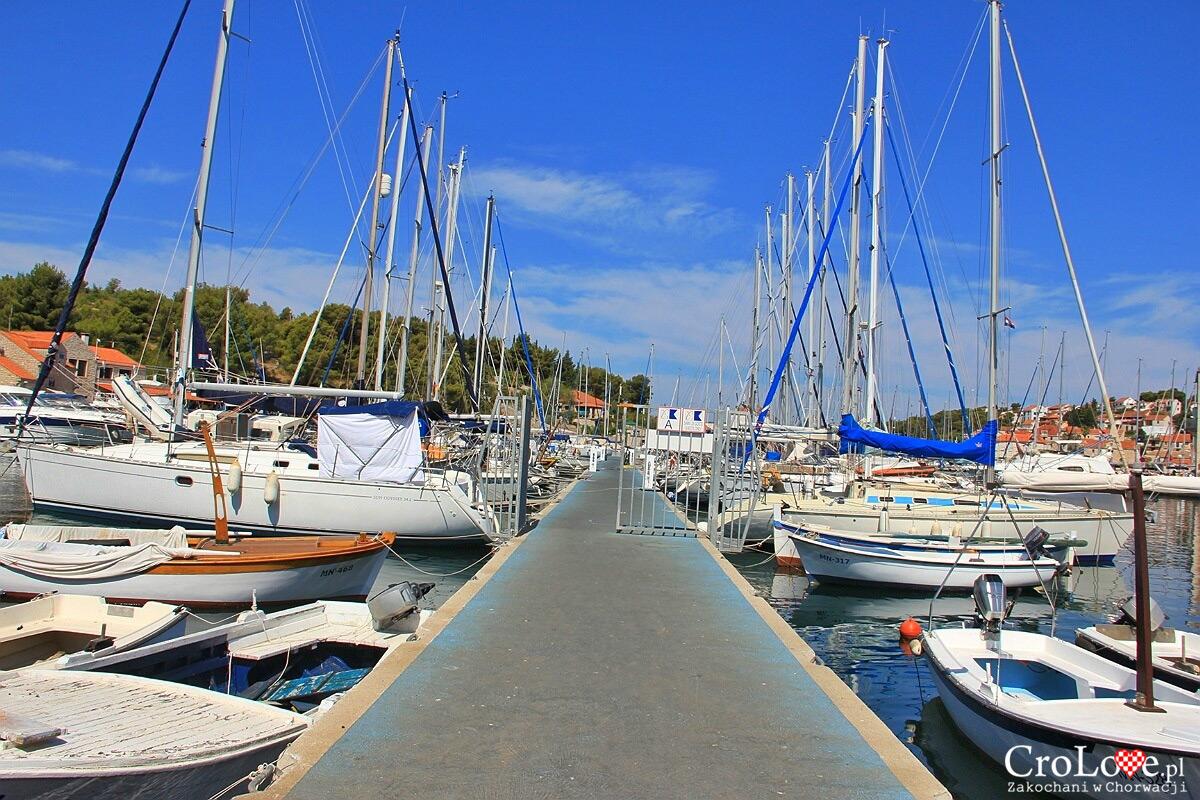 Marina w Chorwacji
