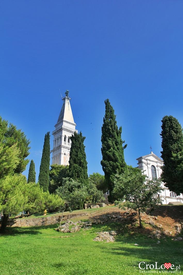 Wieża przy kościele Św. Eufemii w Rovinj