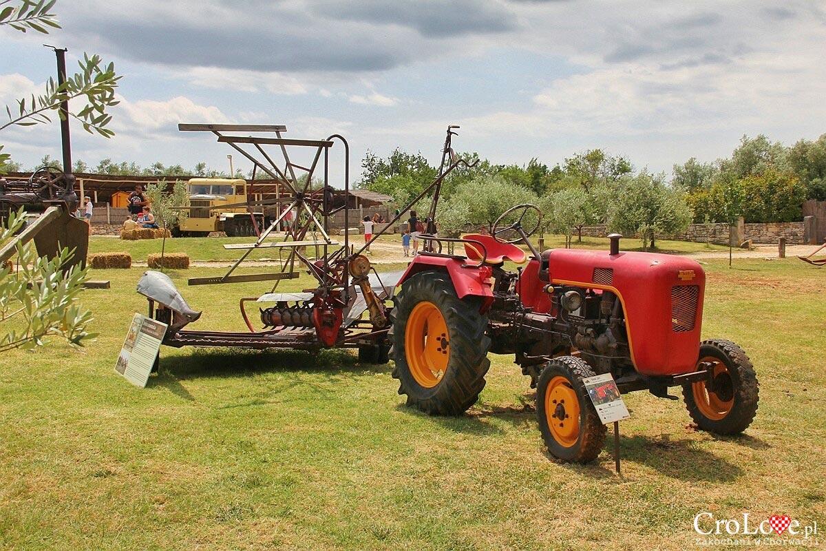 Traktor Stihl 381 z 1959r oraz kosiarka do zboża