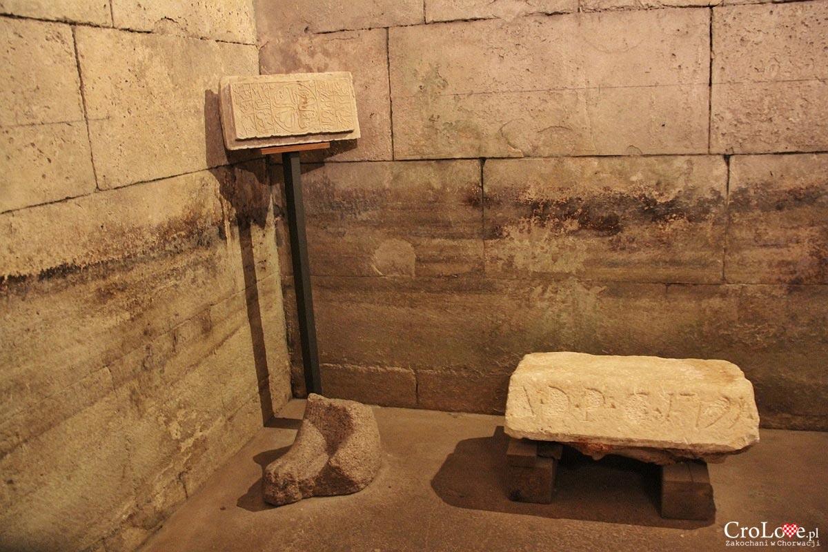 Podziemia pałacu Dioklecjana w Splicie