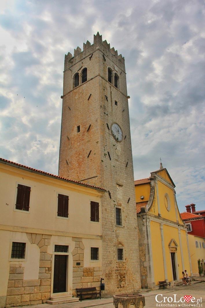 Dzwonnica - wieża przy kościele Św. Stefana w Motovun
