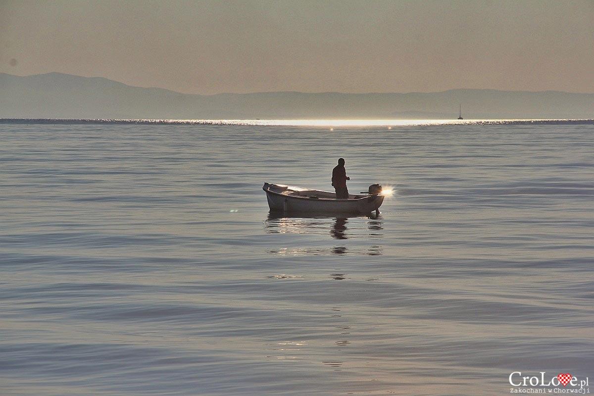 Rybak w Makarskiej