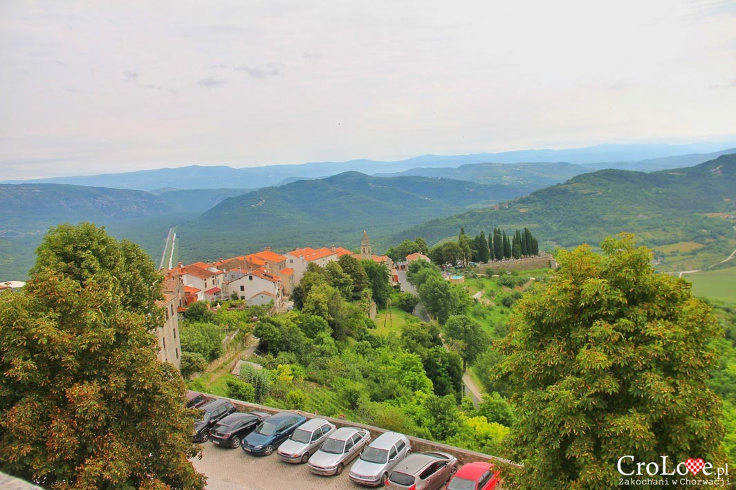 Panorama okolic Motovun