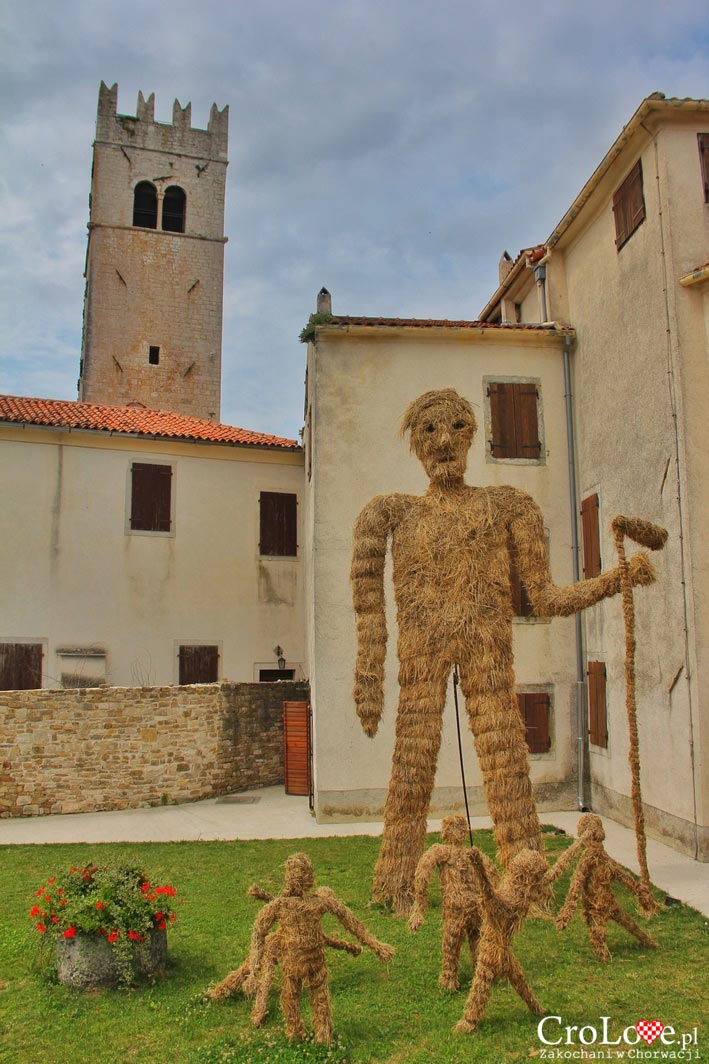 Twórczość na ulicach Motovun