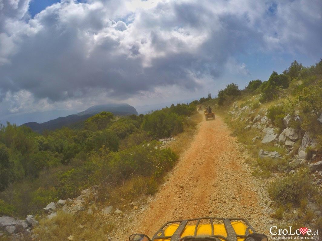 Jazda quadem po regionie Konavle w Chorwacji