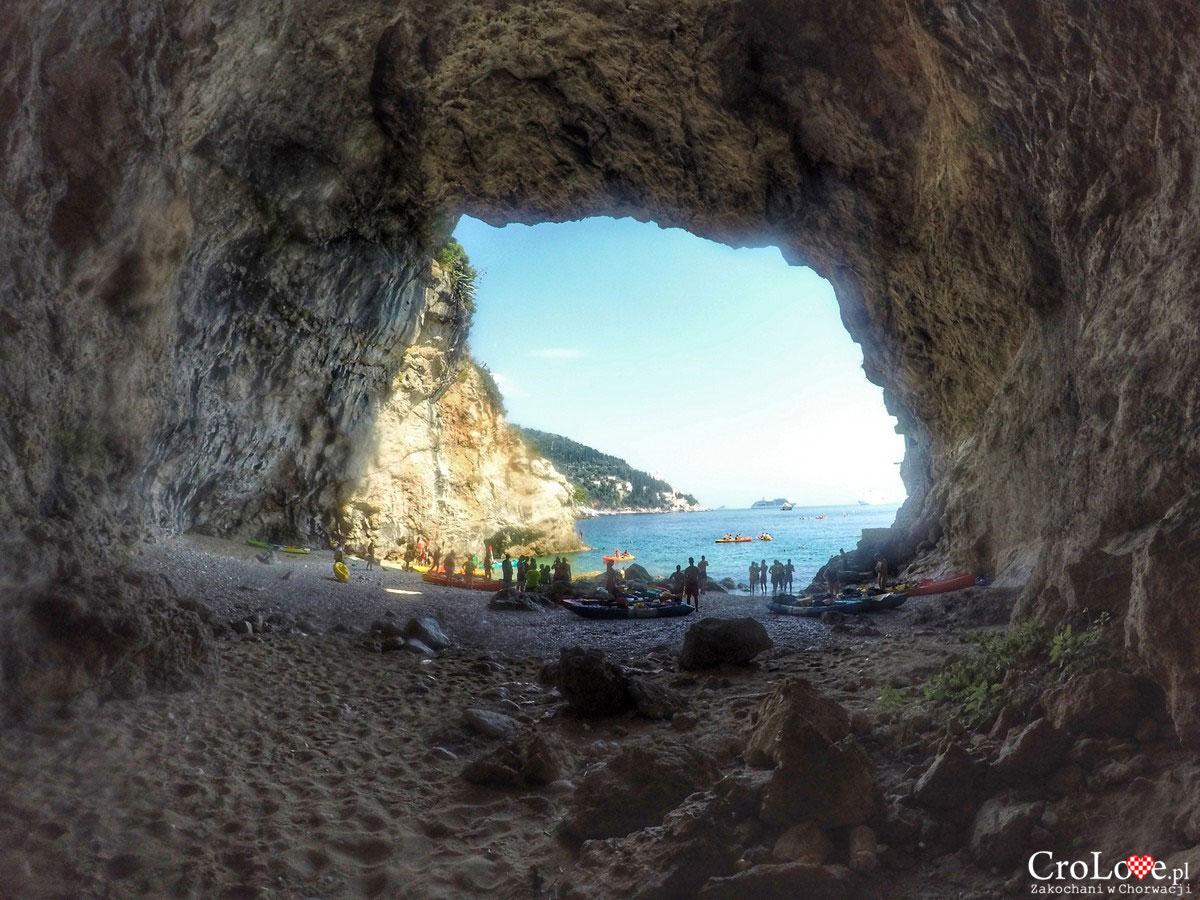 Czwarty postój - Cave Beach