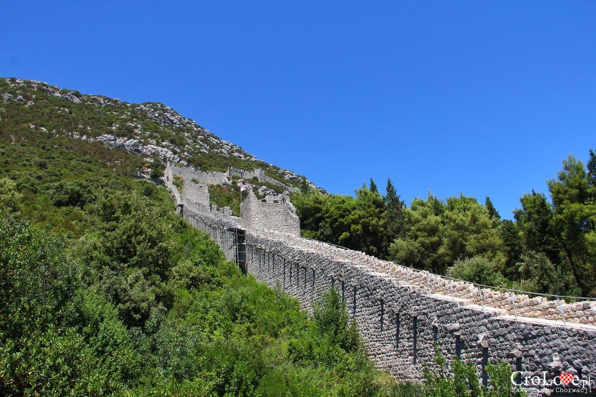 Mury obronne w Ston