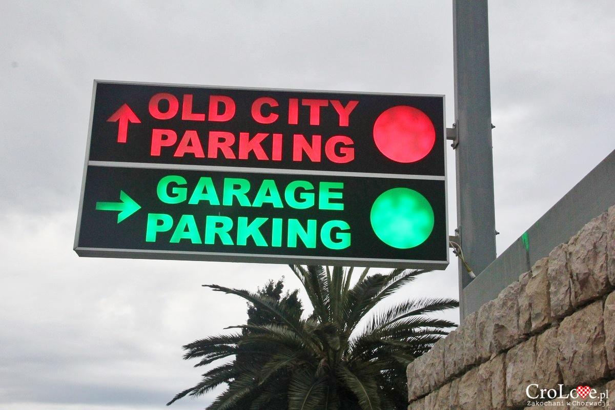 Podziemny parking publiczny