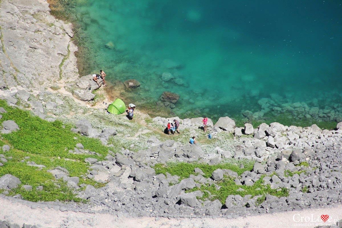 Modro Jezero (Niebieskie Jezioro) w Imotski
