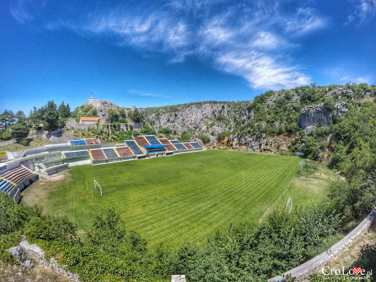 Stadion Gospin dolac w Imotski