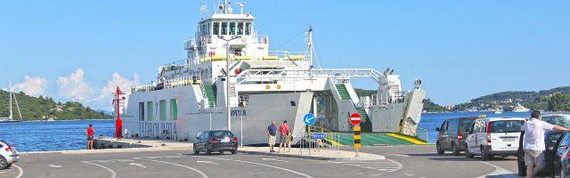 Ceny i rozkłady promów w Chorwacji