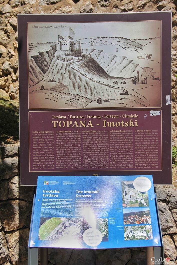 Twierdza Topana w Imotski