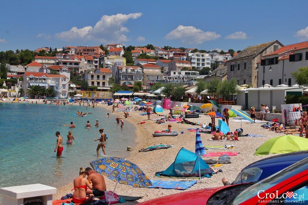 Plaża miejska w Primošten