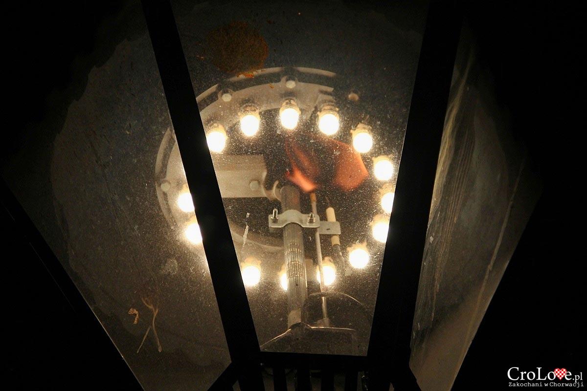 Latarnie gazowe zapalane przez latarnika