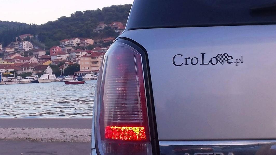 Naklejka na samochód CroLove