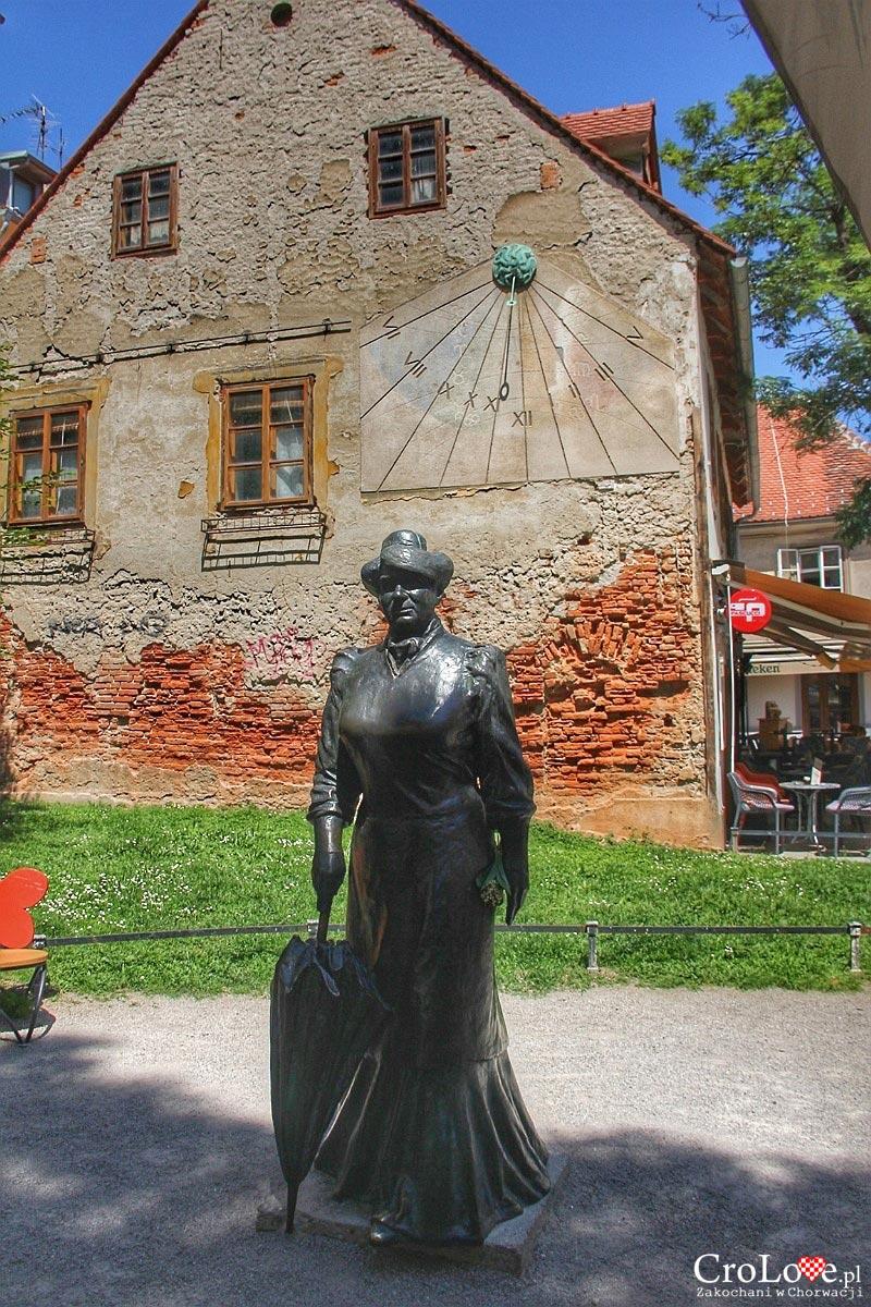 Pomnik - Marija Jurić ps. Zagorka