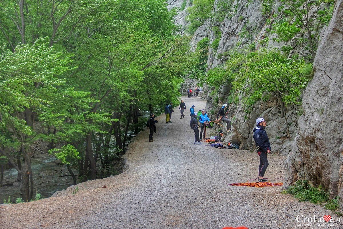 Wspinaczka - Park Narodowy Paklenica