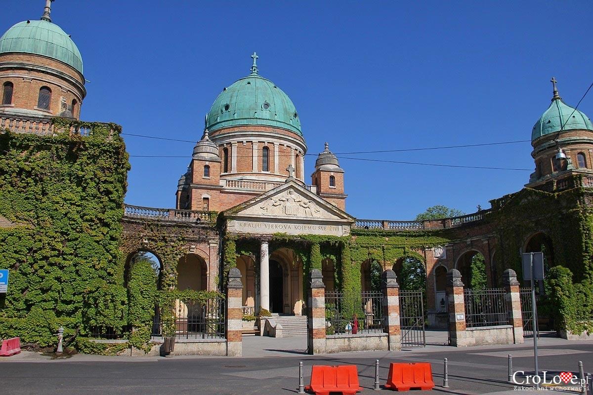 Kościół Chrystusa Króla - Cmentarz Mirogoj w Zagrzebiu