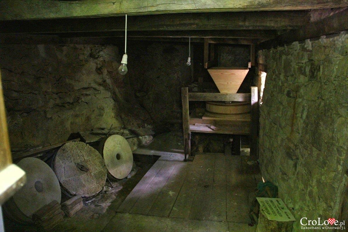 Młyn w miejscowości Kotli - Szlak siedmiu wodospadów