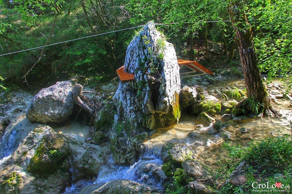 Park linowy - Szlak siedmiu wodospadów