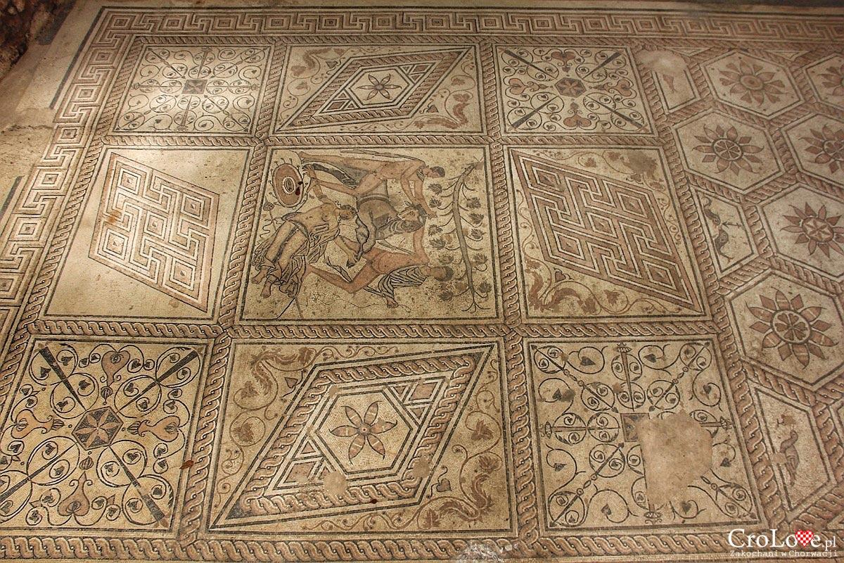 Mozaiki podłogowe - Ukaranie Dirke