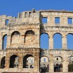 Pula na półwyspie Istria. Amfiteatr i inne ciekawe miejsca