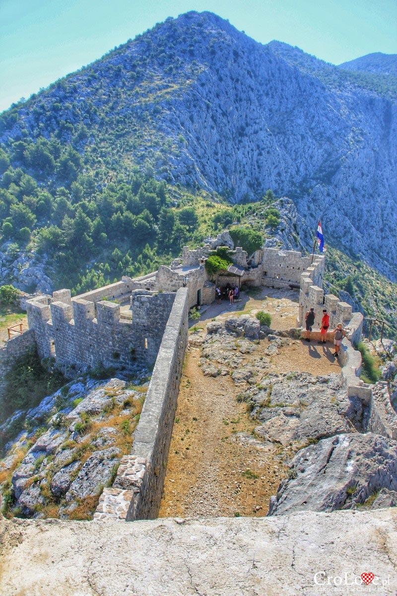 Twierdza Starigrad w Omišu
