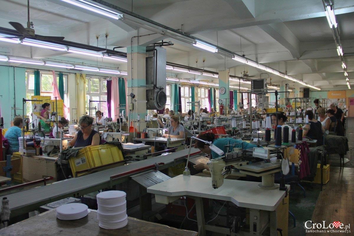 Fabryka odzieży Galeb w Omišu