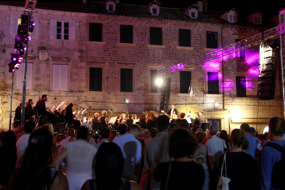Letni Festiwal w Dubrowniku