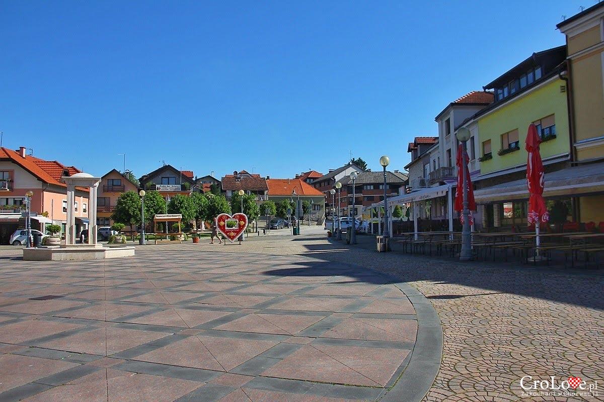 Plac przed Sanktuarium maryjnym Marija Bistrica
