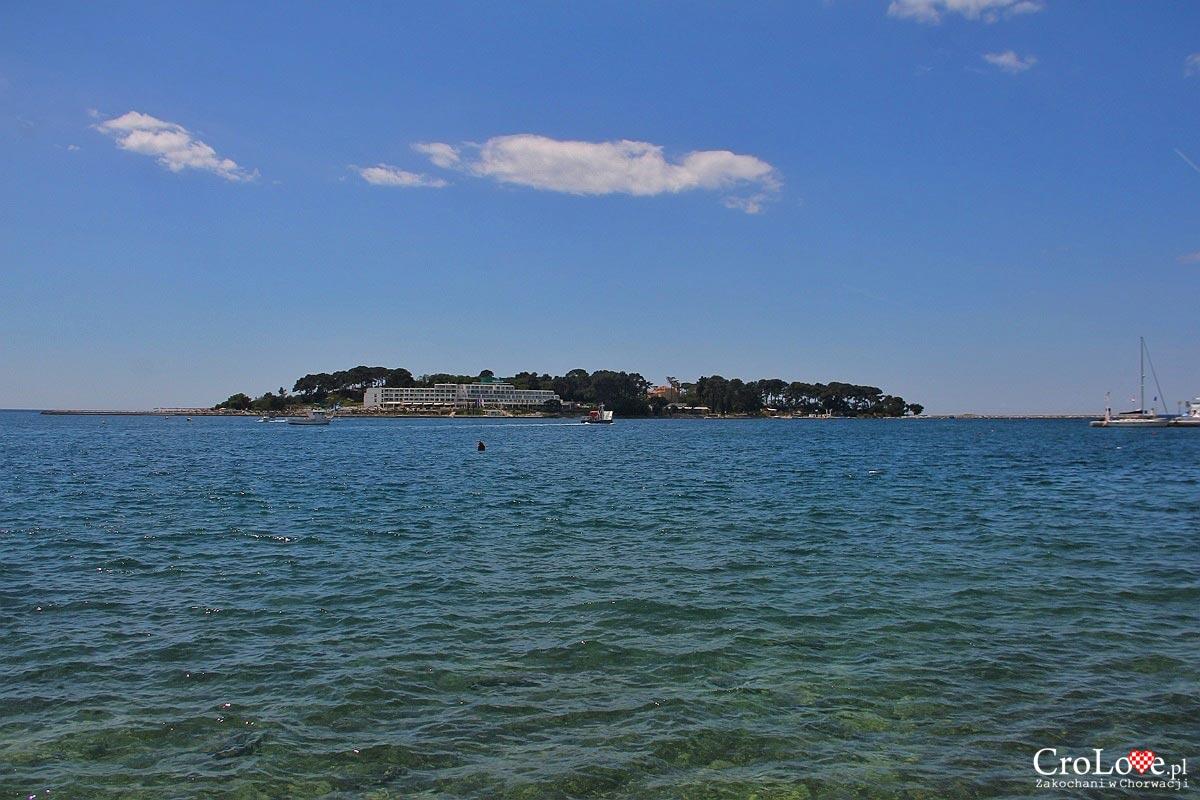 Wyspa Sveti Nikola w Poreču