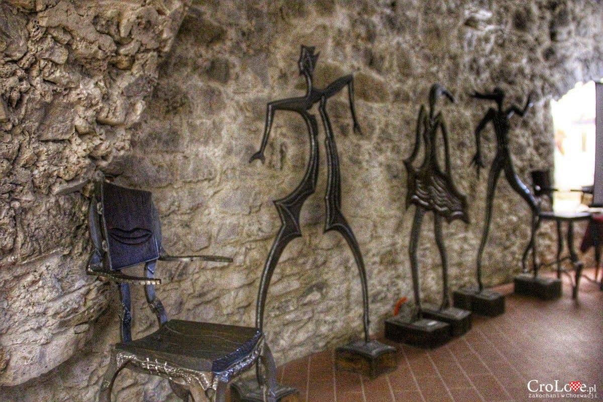 Wystawa Stephana Lupino na zamku Veliki Tabor