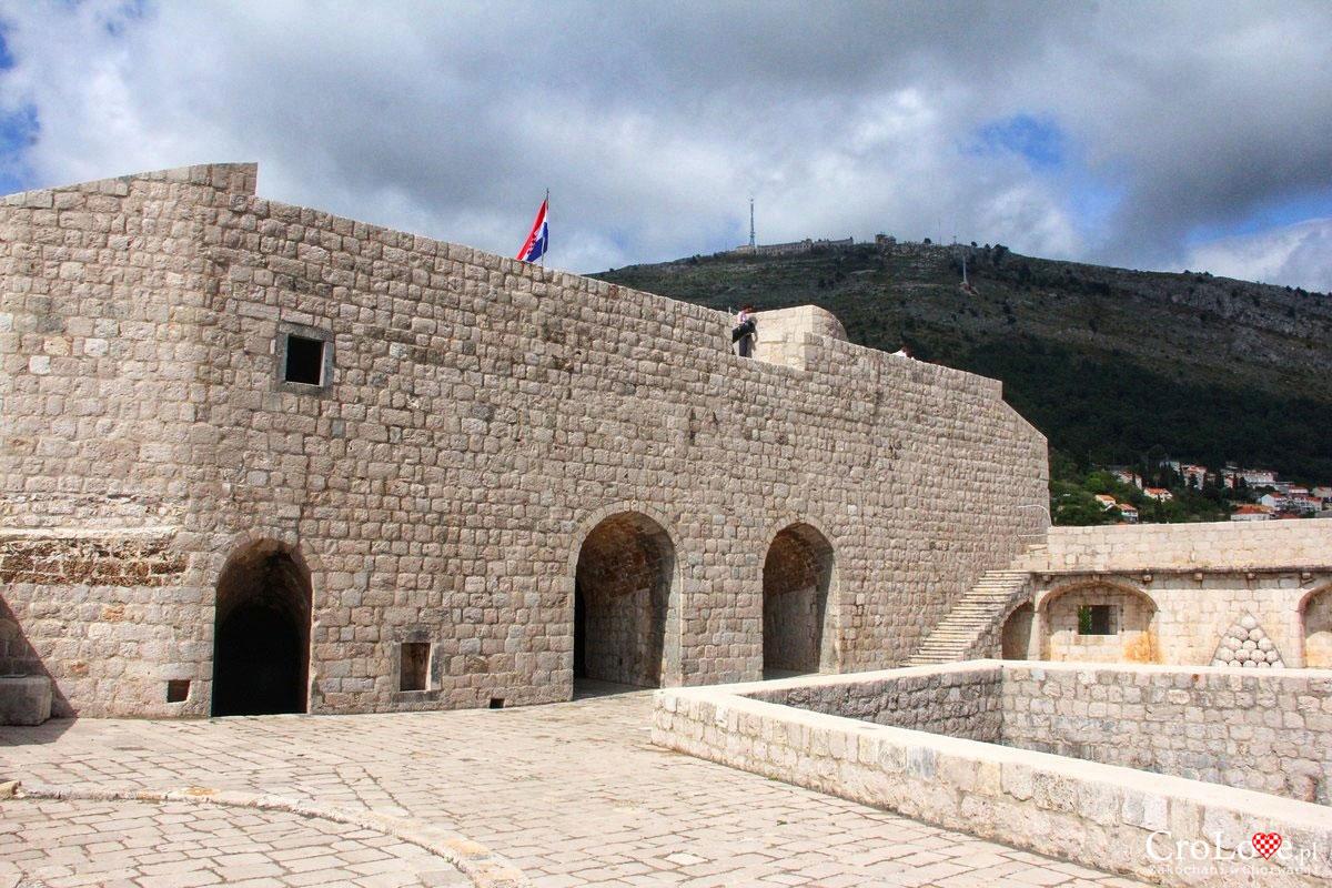 Trzeci poziom Fortu Lovrijenac w Dubrowniku