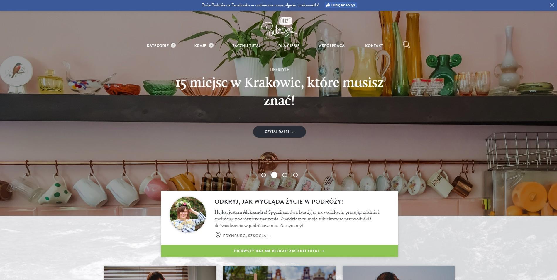 Blog podróżniczy duze-podroze.pl