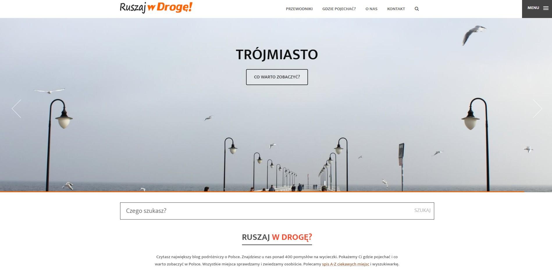 Blog podróżniczy ruszajwdroge.pl