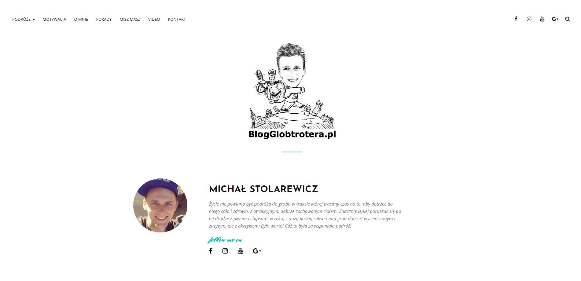 Blog podróżniczy blogglobtrotera.pl