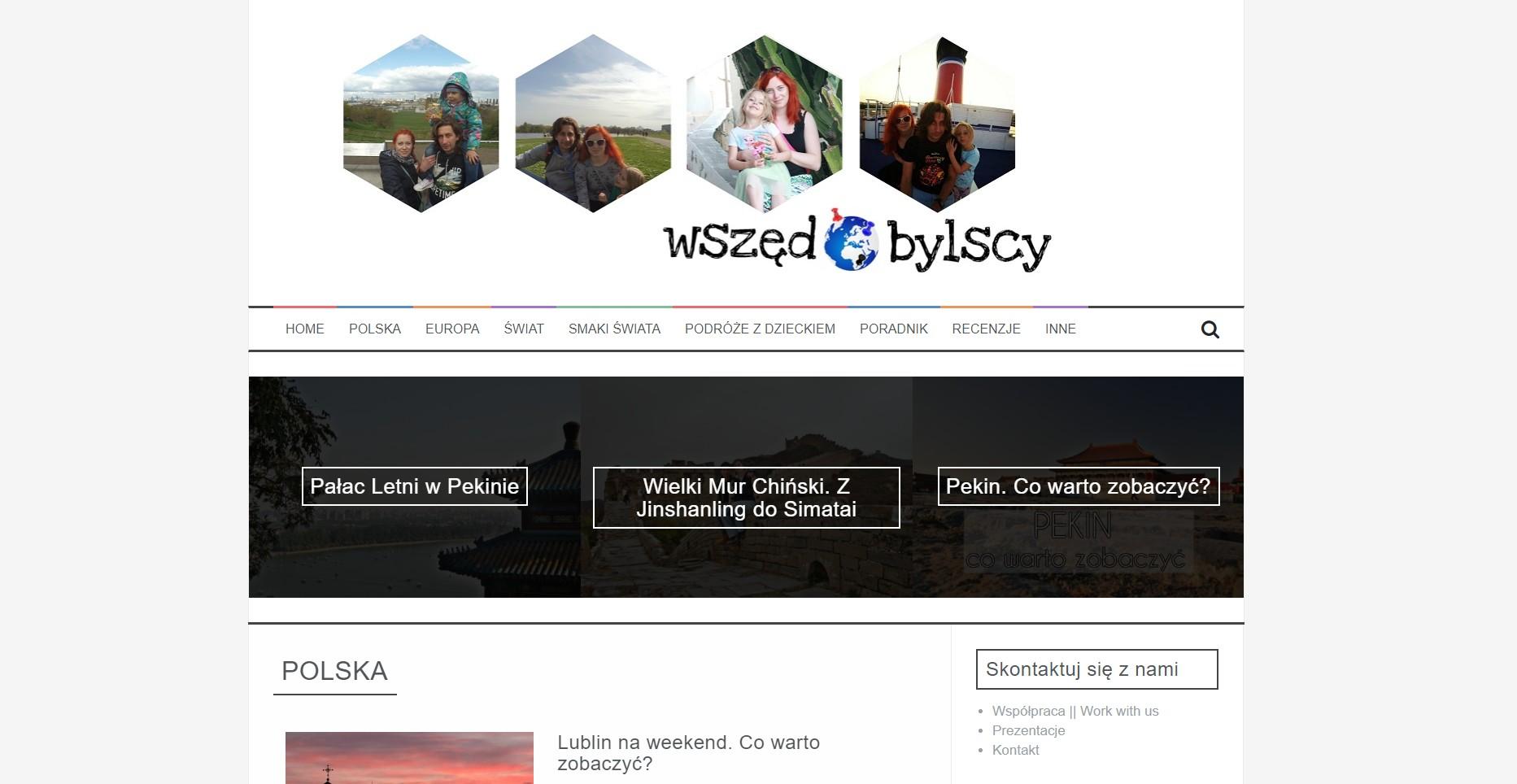 Blog podróżniczy wszedobylscy.com