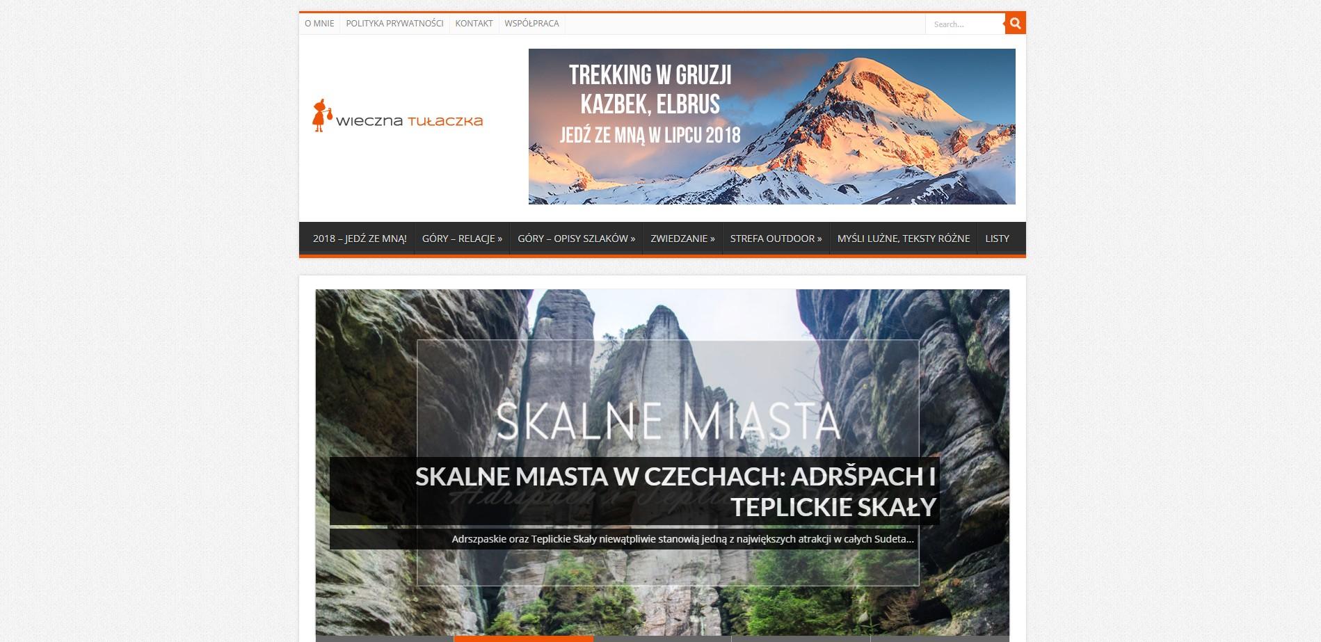 Blog podróżniczy wiecznatulaczka.pl