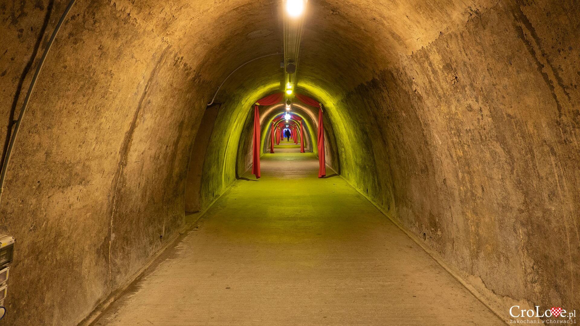 Adwent w tunelu Grič