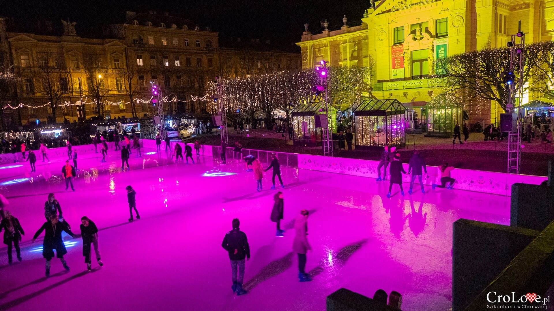 Ice Park na placu króla Tomislava