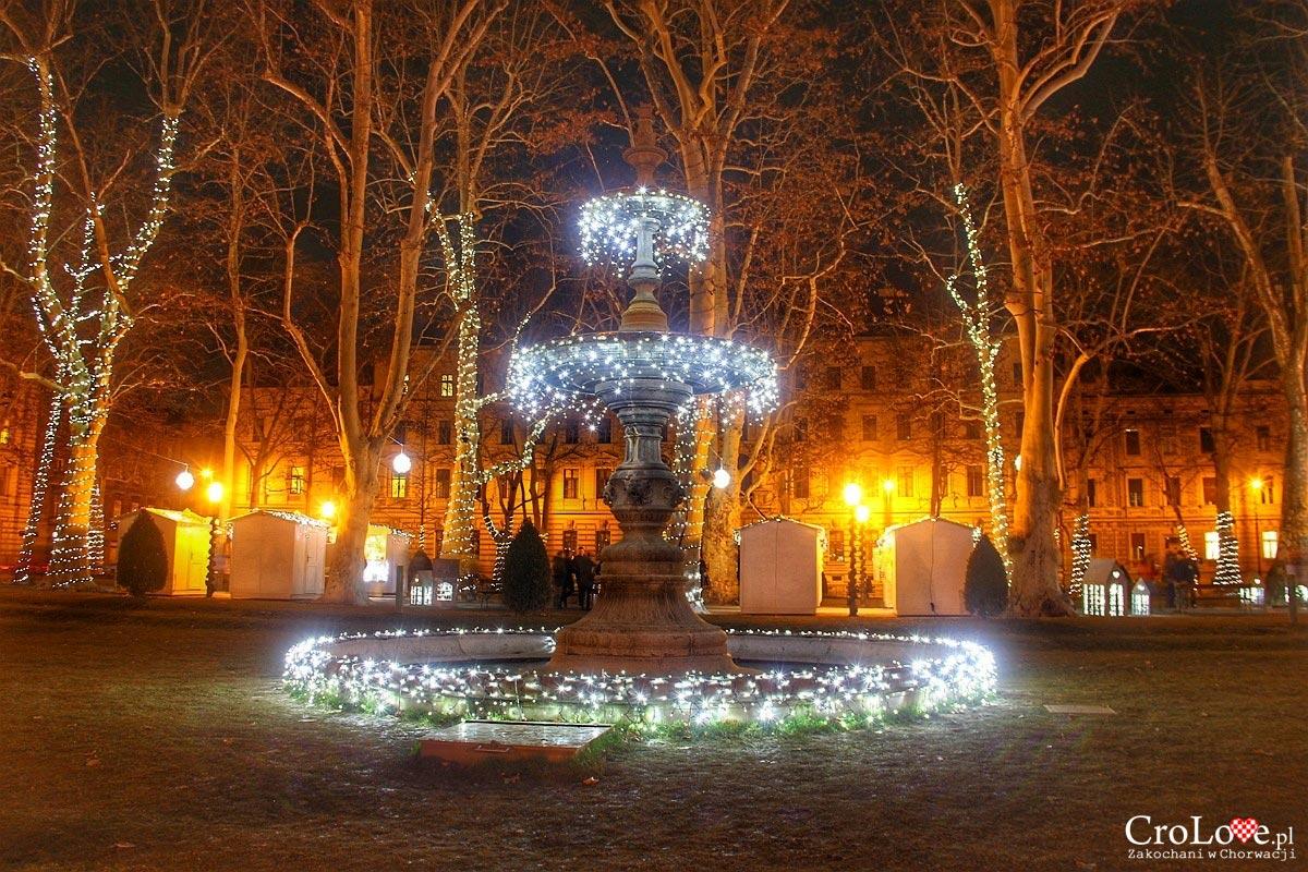 Park Zrinjevac w Zagrzebiu