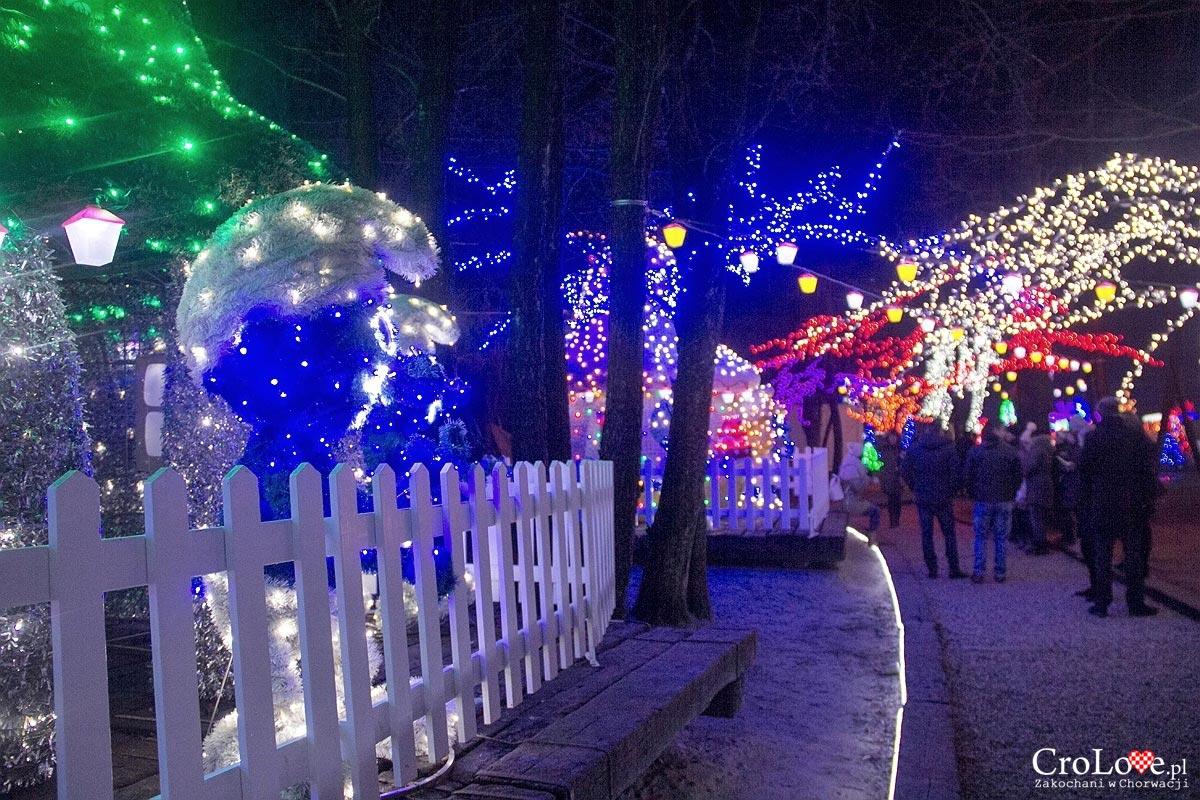 Salaj Land - świetlna opowieść wigilijna niedaleko Zagrzebia