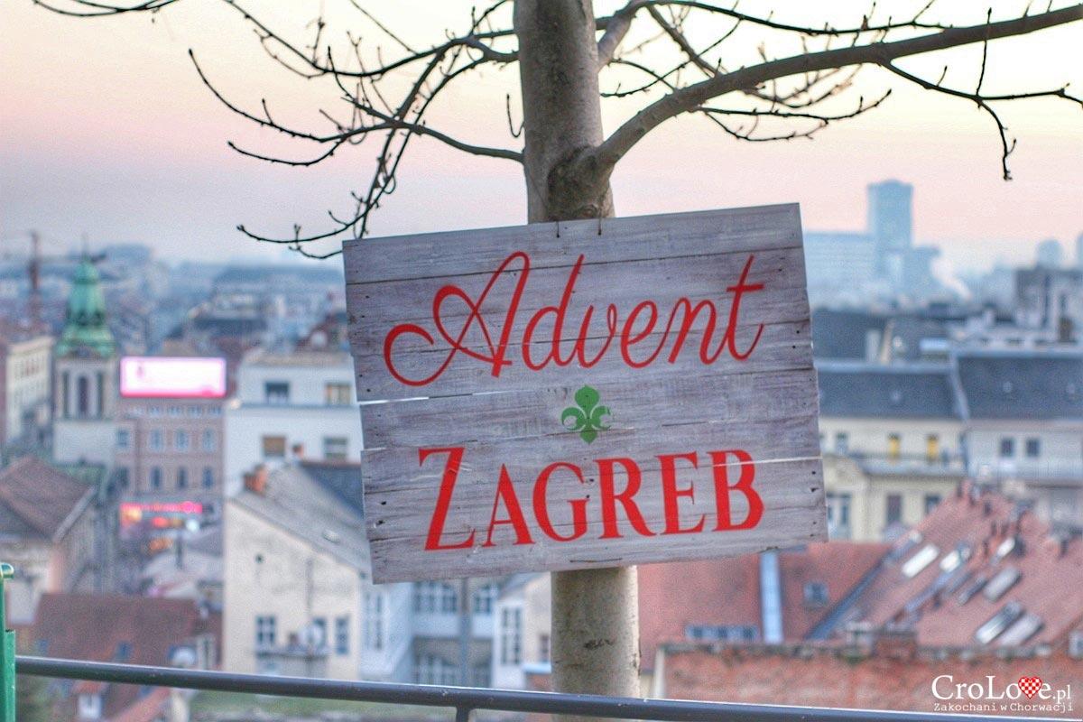 Adwent na Strossmartre na górnym mieście w Zagrzebiu