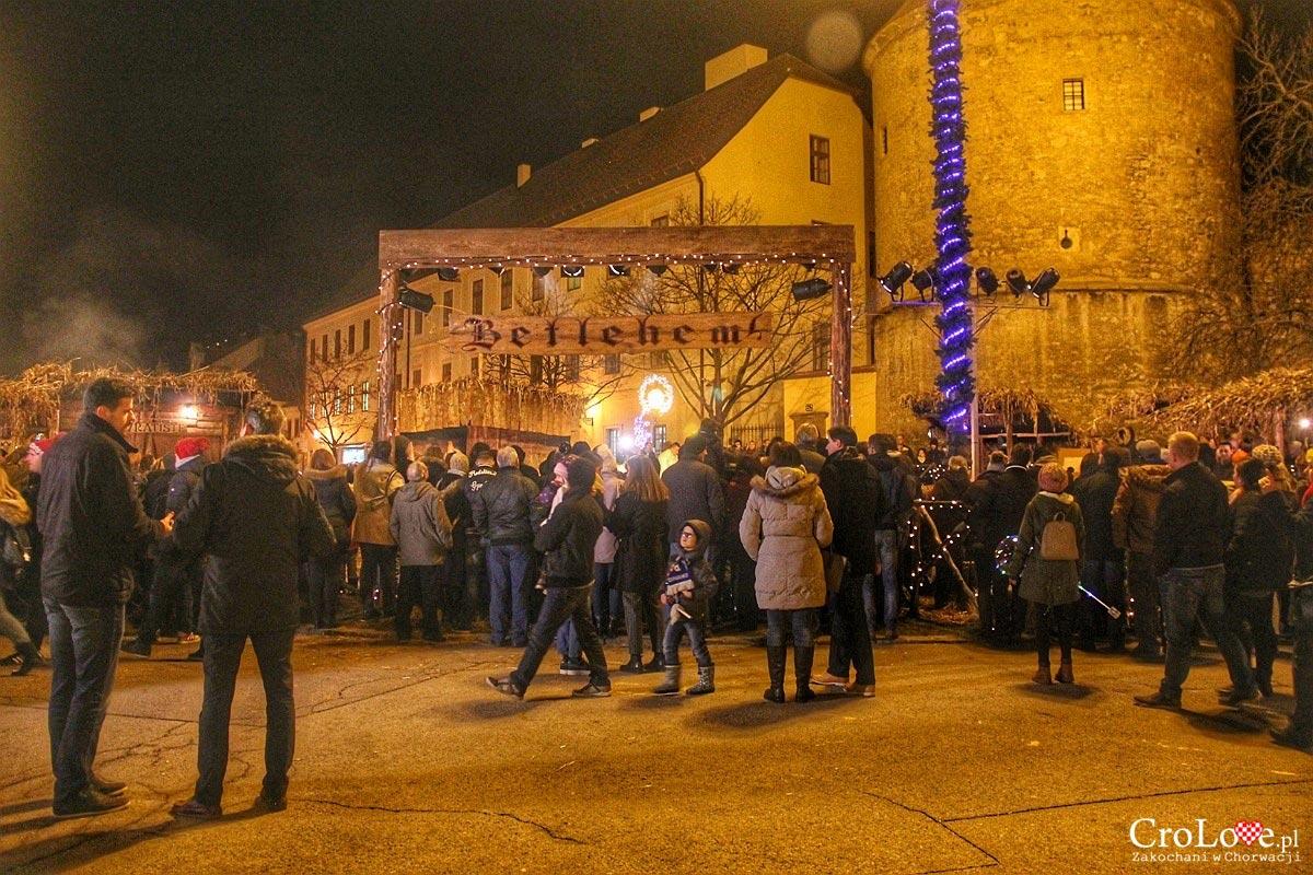 Szopka bożonarodzeniowa w Zagrzebiu